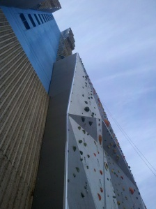 The tallest climbing wall in the US!