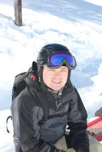 One happy snowboarder. =)