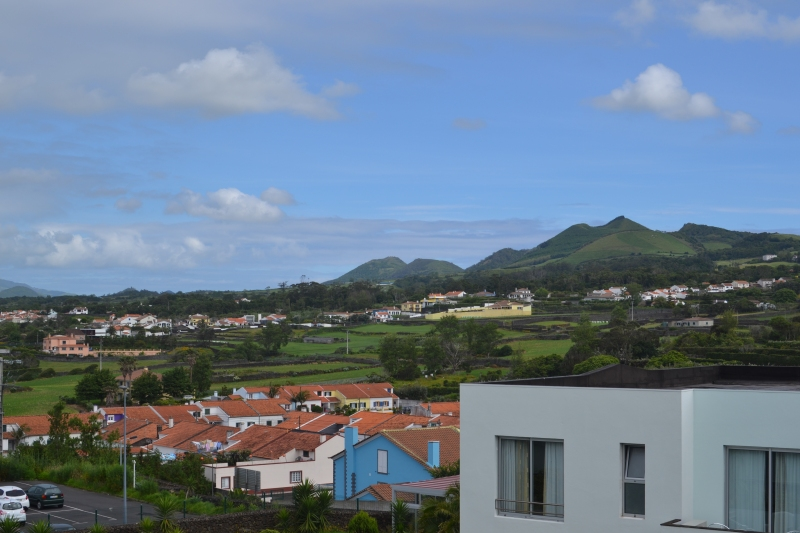 The view from our room at Hotel Vale do Navio. Stunning, huh?