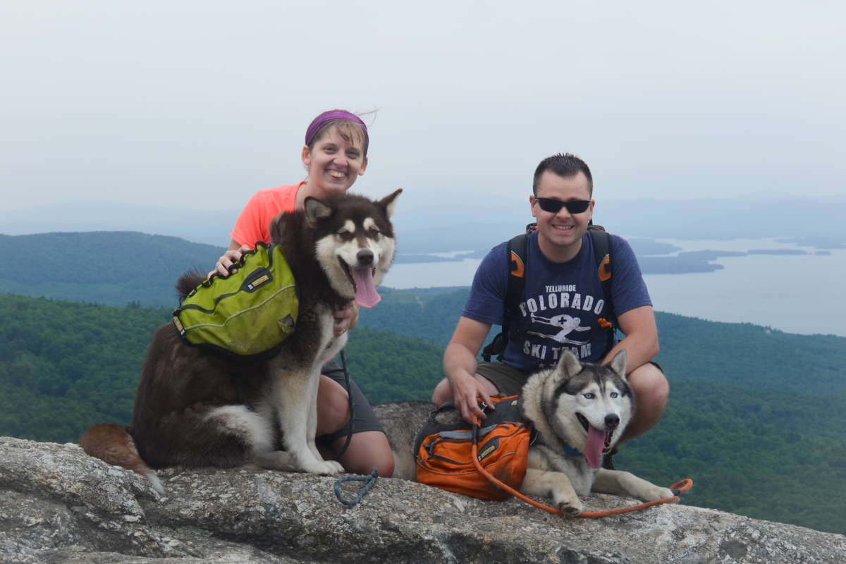 Hiking with Dogs: Mount Major - Alton, NH